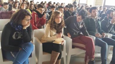 Reggio Calabria 01/03/14 il Liceo da Vinci incontra carta vetrata