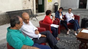 Gerace (Rc) 19/07/14 P.Varacalli, E.Romeo, M.Larosa, P.Bottero, M.Congiusta |carta vetrata|