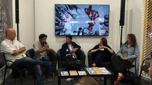 Torino 17/05/15 SRed al XXVIII Salone internazionale del Libro