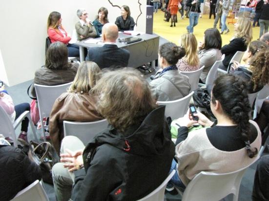 Torino 19/05/13 controversa al XVI Salone internazionale del Libro