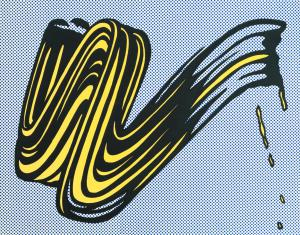 Brushstroke, 1965 [Roy Lichtenstein]