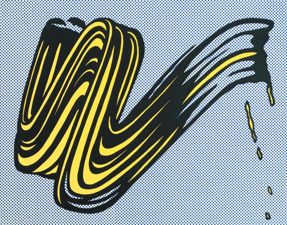 Brushstroke, 1965 [Roy Lichtenstein]