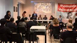 """L'evento """"L'amore nutre"""" a Casa Slow Food Piemonte nel Palazzo della Regione"""