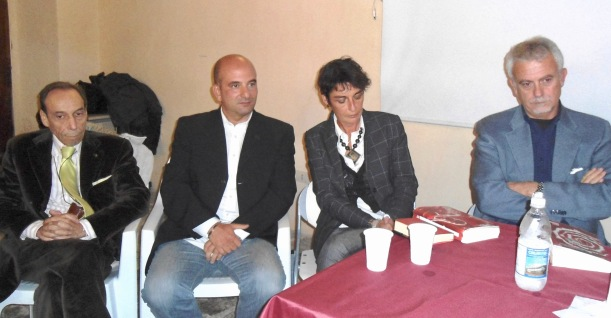 "CONGIUSTA, BORELLI | Lamezia, presentazione ""senza targa"" | 08/12/2013"