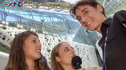 EXPO 2015 | Rho, Milano | intervista ai Tarantanova | 15/09/2015