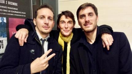 FABIO MOLLO, LUCA MARINELLI | Cittanova, inaugurazione cinema Gentile | 02/12/2015