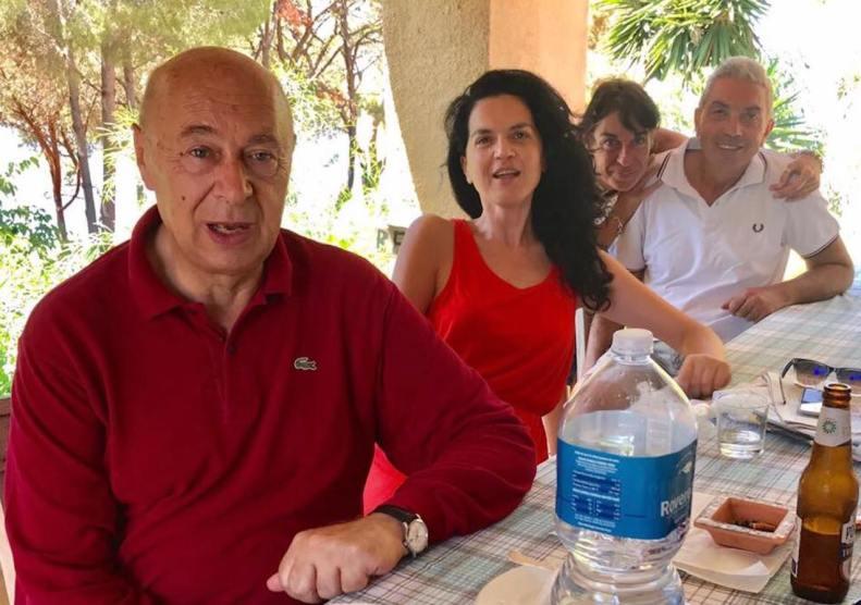 PAOLO MIELI, ANTONIO PADELLARO | Capo Vaticano, Estate a casa Berto | 1/08/2017
